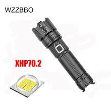 Новинка 2020 ультрамощный светодиодный фонарик xhp702 18650