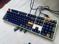87 104 touches SA profil capuchon de clé pour switchs MX mécanique clavier keycap pour Top Gun avec 8 pièces gratuit touches supplémentaires