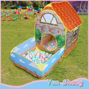 Tents-House Ball-Pool Garden Girls Kids Children Crawling Boys with Courtyard Folding