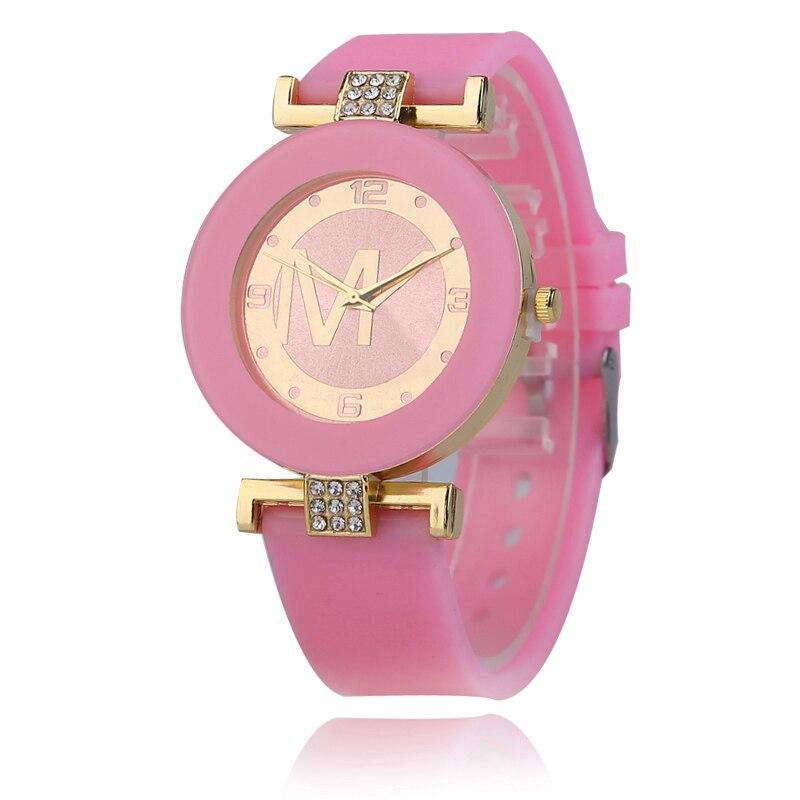 2019 New Ladies Fashion Casual Quartz Watch Women Crystal Silicone Digital Watch Chasy Zhenskiye Cheap Hot Sale Watches
