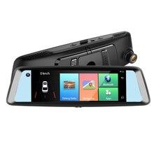 DVR Mirror Dash Cam 4G Mirror Car Dvr 1080P Front +Interior Built in Dual Camera Rearview Mirror Monitor Driver Baby