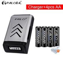Palo 3000mah 12 v aa Аккумуляторная батарея nimh ni mh 2a предварительно