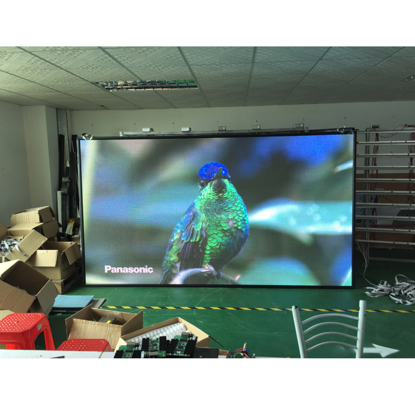 P3.91 Outdoor 500x1000mm die cast aluminum cabinet rental full color led screen
