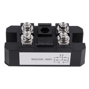 1Pc MDQ 150A-1600V Black Single-Phase Diode Bridge Rectifier 150A Amp High Power 1600V Dropship