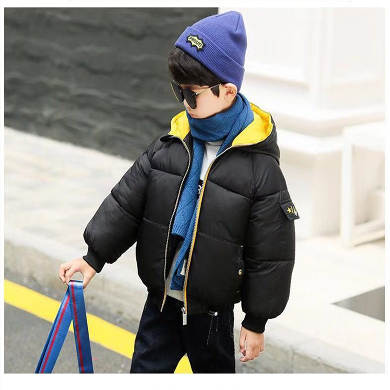 Siddons thick down cotton coats in special puffer design short winter jackets fashion blog recommended 2019 new arrival for boys image