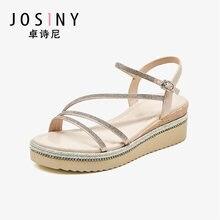 Josiny/женские босоножки; Босоножки на платформе в сказочном