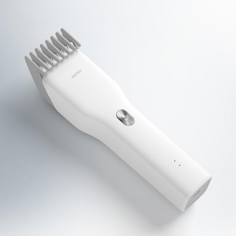 Youpin Enchen Boost USB электрическая машинка для стрижки волос с двумя скоростями Керамический Резак для волос быстрая зарядка триммер для волос Профессиональные парикмахерские инструменты