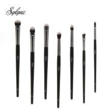 Sylyne Высококачественные Профессиональные кисти для макияжа в комплекте, блендер для бровей и теней, набор кистей для макияжа, инструменты, аксессуары