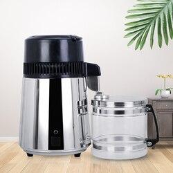 4L destilador de agua para el hogar, destilador de agua, purificador de destilación, filtro Dental de agua, frasco de carbono, acero inoxidable