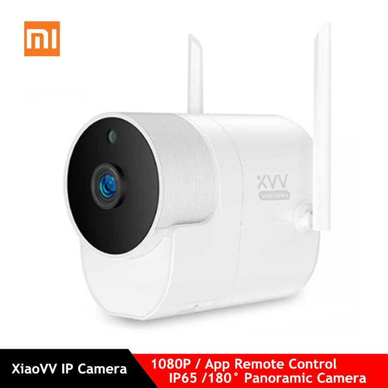 Xiaomi Xiaovv Smart 1080P Panoramic Camera Onvif Waterproof Outdoor IP Camera IR Night Vision App Control Wireless Camera