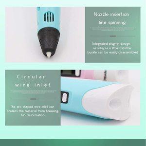 Image 4 - Профессиональная 3d ручка LIHUACHEN RP300A, ручка для 3d печати «сделай сам», креативная игрушка, 3d ручка для рисования, подарок для детей, дизайн, рисование, рождественский подарок