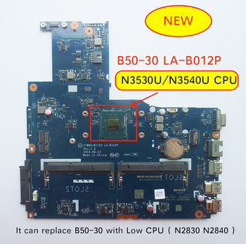 Original New for Lenovo B50-30 ZIWB0/B1/E0 LA-B102P pc Motherboard N3540 N3530 Cpu