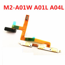 Шлейф с аудиоразъемом для huawei M2-A01W M2-A01L M2-A04L Мощность Кнопка громкости гибкий кабель