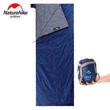 NatureHike outdoor hiking camping envelope sleeping bag ultralight portable bags tourist equipment mini sleep bag naturehike ultralight portable envelope cotton sleeping bag nh15a150 d