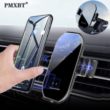 10W Qi Wireless Car Charger Automatic Clamping Fast Charging Air Vent Mount Holder For iPhone 12 11 Pro Max XS XR X 8 Plus Stand