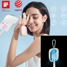 Bathroom Equipmen Smart Portable Mini Toothbrush Sterilizer Box Disinfection Sanitizer UVC Lamp Ultraviolet Toothbrushes Cleaner