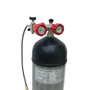 Image 5 - Acecare 9l ce pcp hpa 탱크 4500psi 탄소 섬유 가스 실린더 다이빙 압축 공기 탱크 공기 소총 pcp 콘도르 밸브 m18 * 1.5