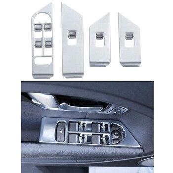 Interior Door Window Switch Panel Cover Bezel Trim Molding Fit for Land Rover Range Rover Evoque 1