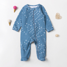 2021 Spring Autumn Toddler Baby Girl Boy Jumpsuit New Arrival Star Print Sleepsuit Customized Wholesale KY-LYK-327-26