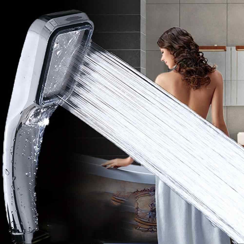300 穴浴室高圧力調整可能な節水スプレーシャワーヘッド水ブースターシャワーヘッド