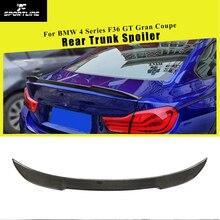 Задний спойлер багажника из углеродного волокна для BMW 4 серии F36 GT Gran Coupe