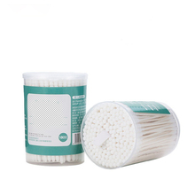 180pcs/Box Cotton Swabs First aid kit paper Sticks Soft Cotton Buds Tampons Microbrush Cotonete tampons health for baby