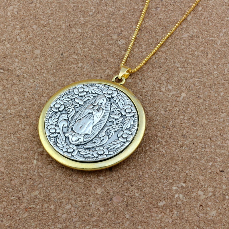 10pcs dark silver tone cross charms h3223