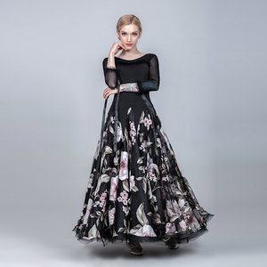 Image 4 - Vestidos de baile de salón para mujer vestido de salón de baile para niñas vestido de vals flecos vestido social estándar Ropa de baile