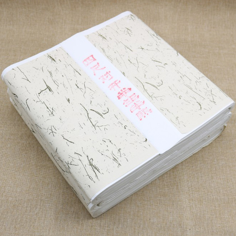 Four Feet Folio Chinese Art Paper Wholesale Thick Special Net Half-Cooked Xuan Calligraphy Painted Creation Anhui Vintage Chines