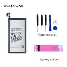 DCTENONE EB-BG920ABE EB-BG920ABA 2550mAh battery For SAMSUNG Galaxy S6 G9200 G9208 G9209 G920F G920 G920V/T/F/A/I +Tools original eb bg920abe battery for samsung galaxy s6 g9200 g9208 g9209 g920f g920i eb bg920aba replacement phone battery 2550mah
