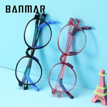 BANMAR dziecko octan okulary blokujące niebieskie światło komputerów rama optyczne okulary dla krótkowzrocznych ramek dla dziewczynek dzieci chłopiec słodkie ramki okularów tanie i dobre opinie CN (pochodzenie) Z poliwęglanu Unisex BM5115 48mm 46mm Z tworzywa sztucznego