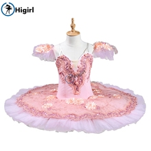 Adult girl professional ballet tutu pink Sugar Plum Fairy Classical Pancake Platter performance girls ballerina BT8978