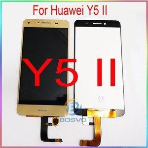 Image 1 - Tela de lcd para huawei y5 ii, display de substituição para tela cun u29 l21 l01 l02 l03 l22 l23 l33 com touch peças de reparo