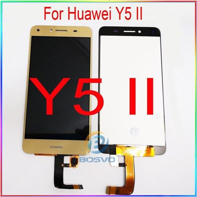 화웨이 Y5 II LCD 화면 디스플레이 CUN U29 L21 L01 L02 L03 L22 L23 L33 터치 어셈블리 교체 수리 부품