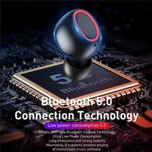 Image 4 - TWS Bluetooth 5.0 Với Sạc Hộp Tai Nghe Không Dây 8D Stereo Thể Thao Chống Thấm Nước Tai Nghe Nhét Tai Tai Nghe Có Micro