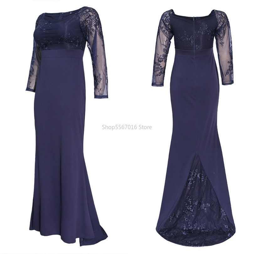 בגדים אפריקאים עיצוב תחרה Mt164 שמלת Bazin Slim מקסי Robe שמלות ערב מסיבת מסורתית בת ים אפריקאי שמלת נשים