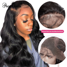 13*4 Bleached Knots Brazilian Body Wave Lace Front Human Hair Wigs With Baby Hair Lace Front Wig Remy Hair Pre Plucked