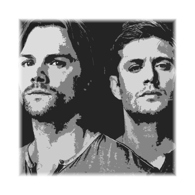 Supernatural SPN kids diy 90s Art print notebook phone laptop bicycle scrapbooking album decals sticker image