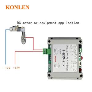Image 4 - KONLEN חכם GSM ממסר בקר טמפרטורת חיישן SMS שיחת שלט רחוק בית אוטומציה כוח מתג שער פותחן מים משאבת