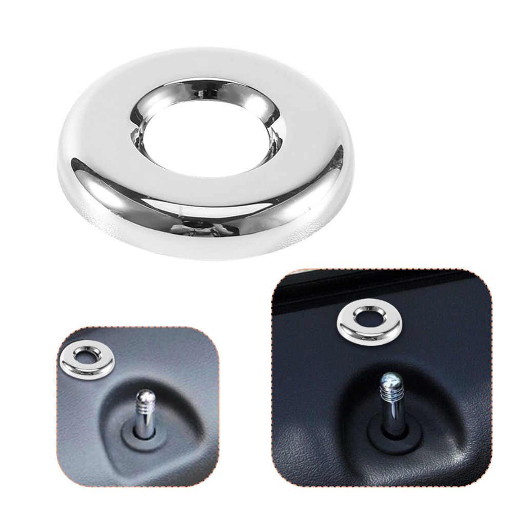 4 pièces Chrome anneau de verrouillage de porte couvre pour Jeep Patriot pour Dodge voyage boussole 2007 2008 2009 2010 2011 2012 2013 2014 2015