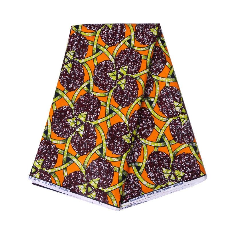 2019 Newest Fashion Design African Fabric Veritable Guarantee Real Dutch Wax 100% Cotton 6Yards\lot African Wax Fabric