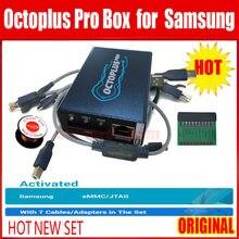 Original octoplus pro Box/octopus box für samsung aktivierung für samsung reparatur und flash und entsperren + J-tag /EMMC + FRP + 5 kabel