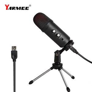 Image 1 - Professionele Usb Microfone Condensator Microfoon Voor Laptop Karaoke Zingen Streaming Gaming Podcast Studio Opname Mikrofon