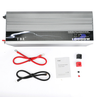10000W Inverter DC 48v To AC 220v Car Auto Power Inverter Pure Sine Wave Converter Adapter With USB Charger 10000 Watt