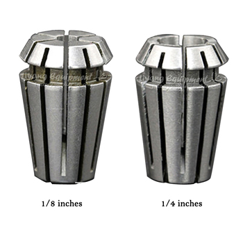 цена на 2pcs/lot ER11 Collet chuck Spindle 800W lathe tool holder 3.175mm from 1-7MM for CNC cutting cnc router tool