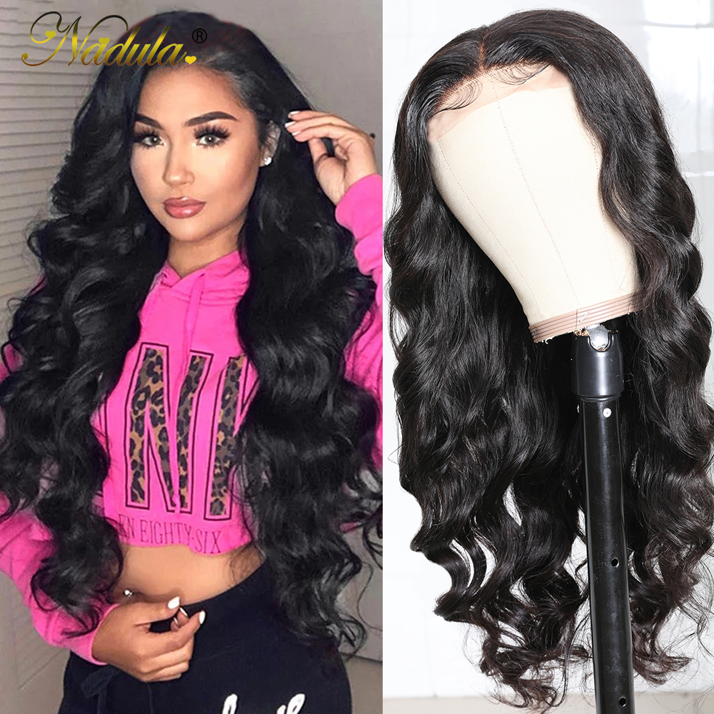 Body Wave Lace Wig   150% Density 13x1 T Part Lace Front Wig with Baby Hair Nadula Deep Part  Wigs 1