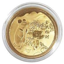 Год крысы памятная монета Китайский Зодиак Сувенир Коллекционные монеты коллекция художественное ремесло