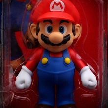 Doll Toys Model-Statue Cake-Figure-Decoration Action-Figure Supermario-Game Kids Gift