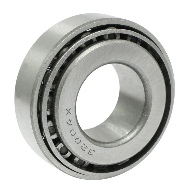 Single Row 20x42x15mm Metal Tapered Roller Bearing 32004 Silver
