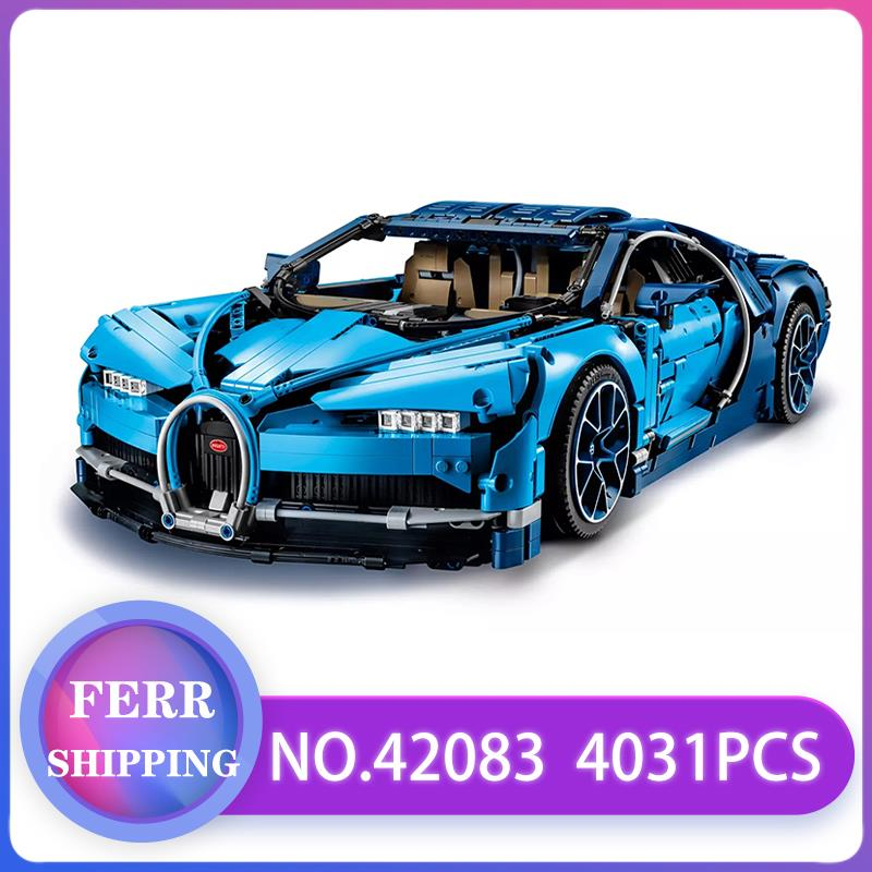 Technic Race Car 20086 20086C 20001 Building Blocks Bricks Compatible With LEGOED 42083 42056 Christmas Gift Bugatti Car Chiron